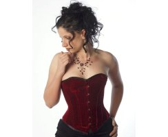 Erotex Over-Bust Corset Nobles Velvet - Cup B