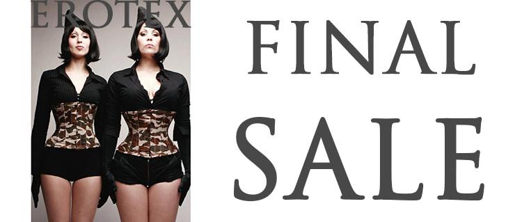 Erotex Final Sale
